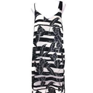 Vince Camuto Tropical Shadows Maxi Slip Dress